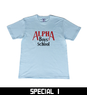 Alpha Boy's School Logo T-Shirts