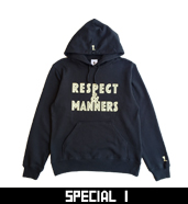RESPECT&MANNERS P/O PARKA