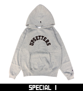 UPSETTERS SWEAT P/O PARKA
