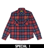 A.B.S FLANNEL CHECK SHIRTS