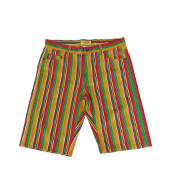 MULTI STRIPE SHORTS