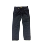 BLACK SELVAGE DENIM JEANS