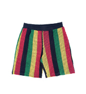 Marina Shorts Rasta Color