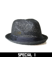 SPECIAL1 PAPER FEDORA HAT