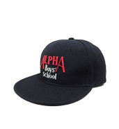 ALPHA BOYS SCHOOL SNAPBACK CAP