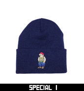 RUDE BEAR KNIT CAP