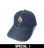 RUDE BEAR BASIC CAP