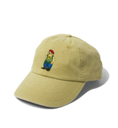 RUDE BEAR Washed Basic Cap