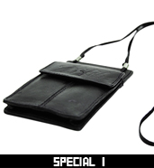 LEATHER PASS / ID HOLDER