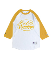 COOL RUNNINGS Champion RAGLAN SLV T-SHIRTS