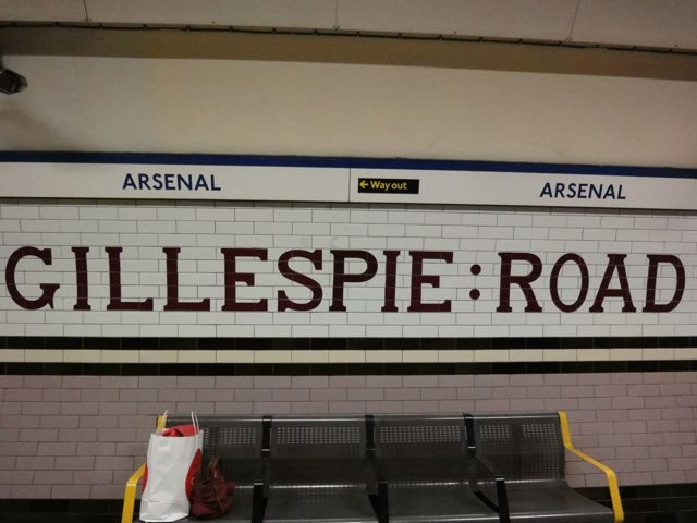 Gillespie Road station