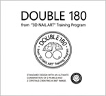 "DOUBLE 180 from ""3D NAIL ART"" Training Programセミナー"