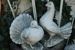 garden ornaments, Birds