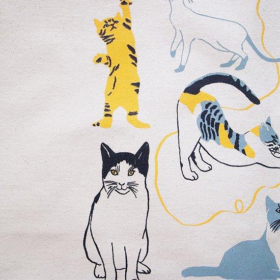 様々な表情の猫のイラスト