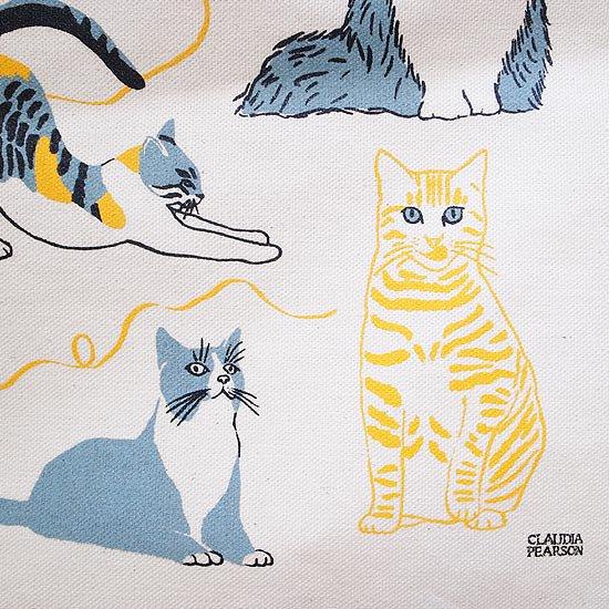 愛くるしい猫のイラスト