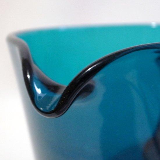 ヴィンテージ ガラス:プレスガラスのピッチャー [カイ・フランク]