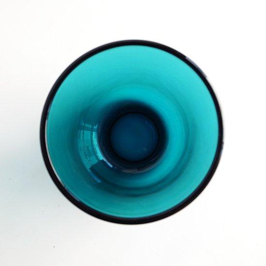 ヴィンテージ ガラス:プレスガラスのタンブラー [カイ・フランク]