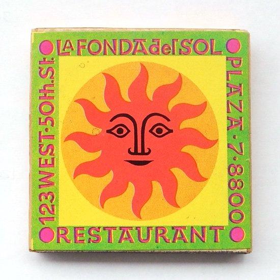 ヴィンテージ アイテム:アレキサンダー・ジラルドがLa Fonda Del Solのためにデザインをしたマッチボックスです