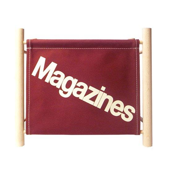 Magazine Rack -Maroon-
