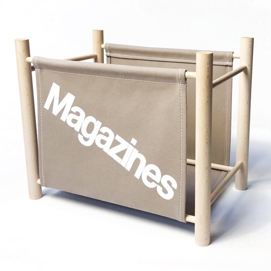 Magazine Rack -Gray-