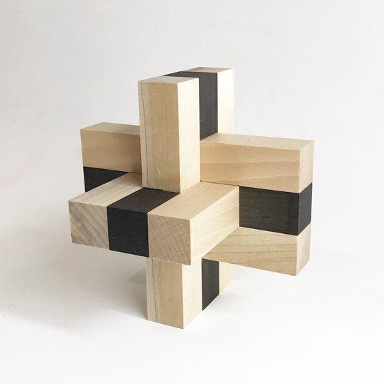 山中組木工房 : 色付9型組木 / 山中成夫