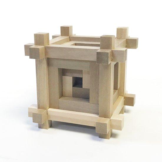 山中組木工房 : マス組木 / 山中成夫・柳宗理