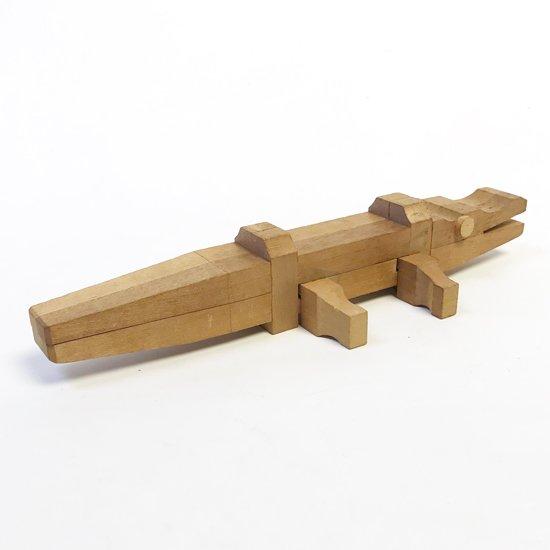 山中組木工房 : ワニ