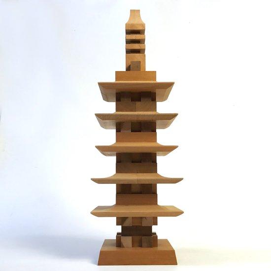 山中組木工房 : 五重塔 / 山中常太郎