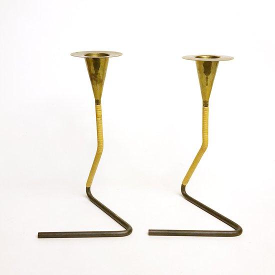 オーストリアのデザイナー、カール・オーボックがデザインをしたキャンドルホルダー