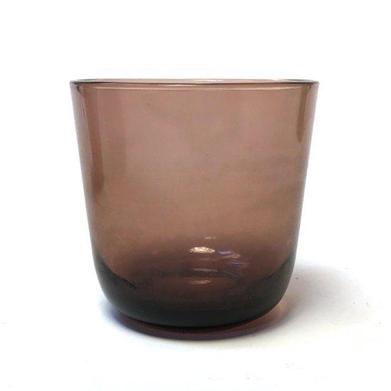 フィンランドのデザイナー カイ・フランク にプレスガラスのタンブラー 『#5023』