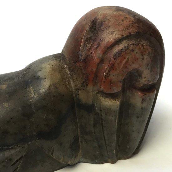 セイウチの彫刻