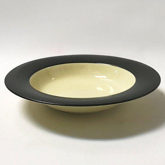スープやパスタ用のデッドストックの日本製のボウル