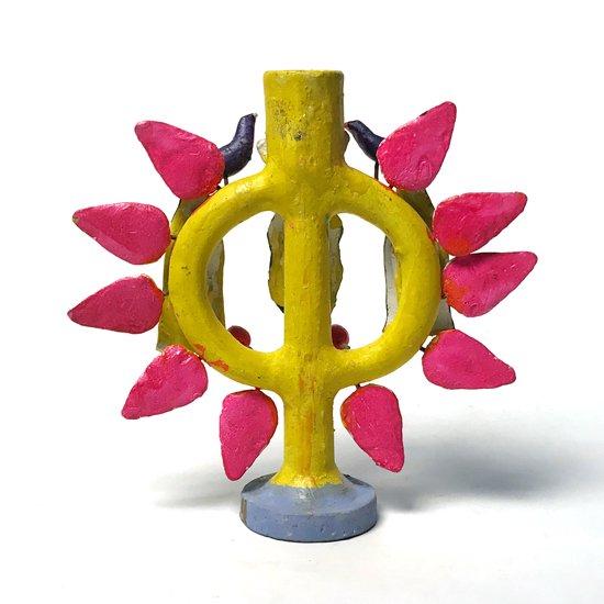 メキシコのメテペックで作られた1970年代のツリーオブライフ