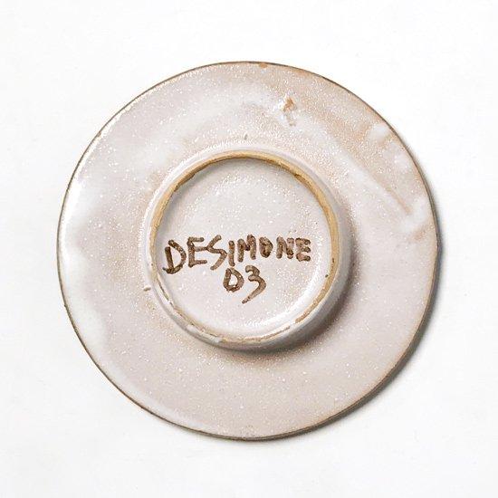 シチリアにある陶器工房 デシモーネ の小さなプレート
