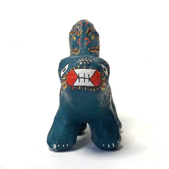 沖縄県の郷土玩具、古い琉球張り子のウルマシシ