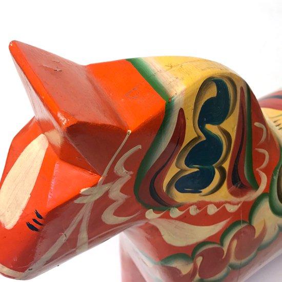 スウェーデンの伝統工芸品、1970年代に作られた大きなダーラナヘスト