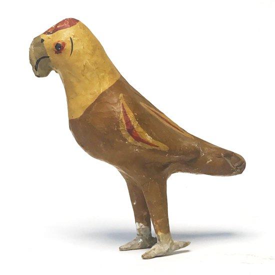1970年代にメキシコの張子で作られたとても雰囲気のいい鳥のオブジェ