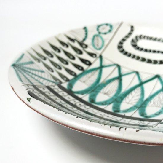 Vintage Ceramic:  Fajans Plate / Stig Lindberg