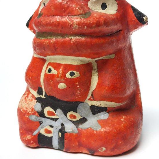 埼玉県の工芸品、鴻巣の赤物と呼ばれる練物の古い獅子金