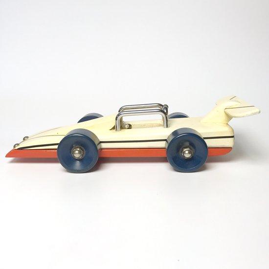 アメリカで見つけた手作りのレーシングカーのおもちゃ
