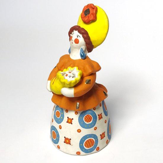 1990年代ロシアで作られた陶器のフィギュア