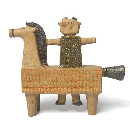 スウェーデンを代表するデザイナー Stig Lindberg 1963年にデザインをした彫刻作品