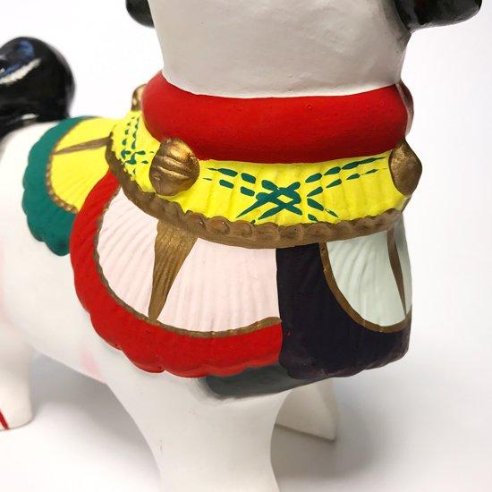 郷土玩具の中でも最も歴史があると言われている京都の伏見人形の四つ立犬