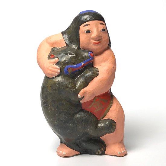 山形県の郷土玩具、酒田土人形の大きな金太郎