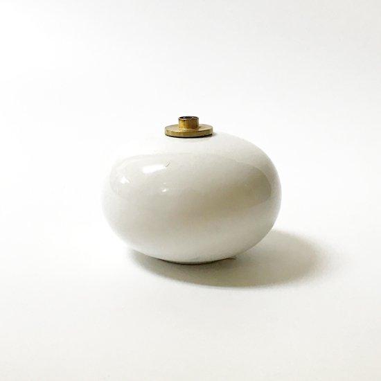 スウェーデンの陶磁器メーカー Hoganas Keramik が80年代製造していたオイルランプ