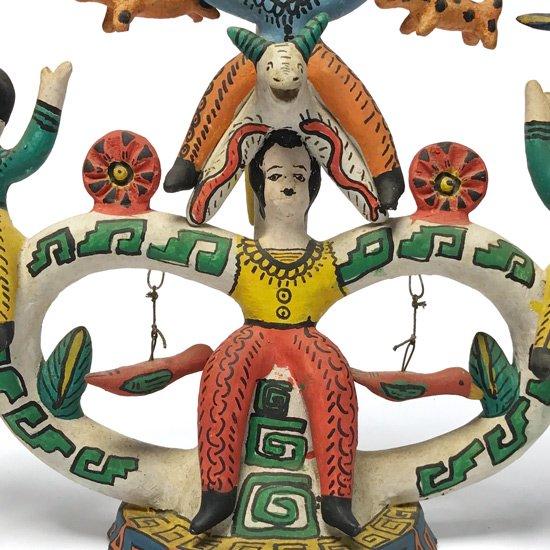 メキシコを代表するフォークアーティストの一人 Heron Martinez によるツリーオブライフ