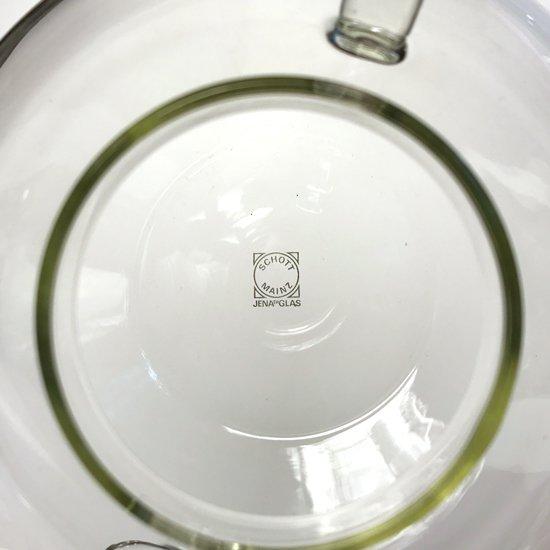 ドイツのガラスメーカー イエナグラス社 で作られていた耐熱ガラスのティーポット