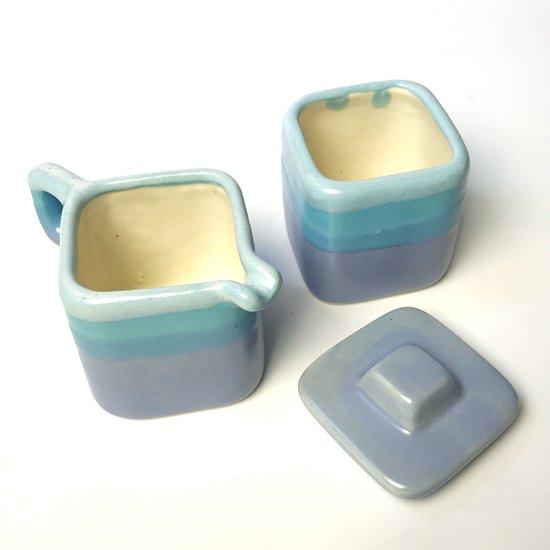 メキシコ出身の陶芸家 Reycita Padilla(1956- ) のティーセット