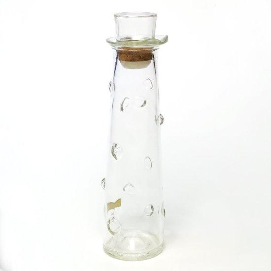 1960年代アメリカで作られていた特徴的なデザインのガラスのデキャンタ