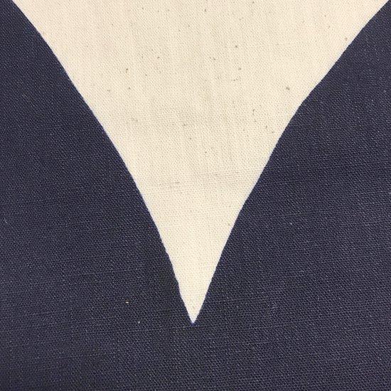 山内染色工房: のれん『山』/  濃紺
